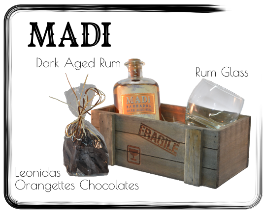 Giftbox MADI Dark Aged Rum