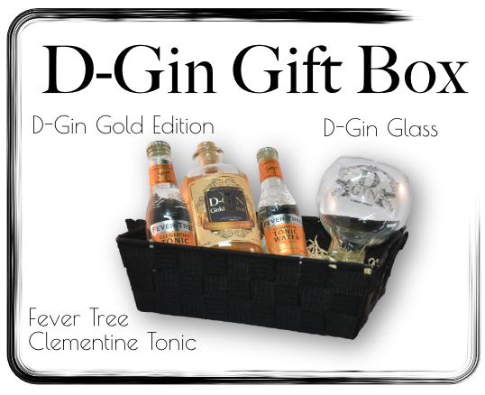 Giftbox D-Gin Gold Edition