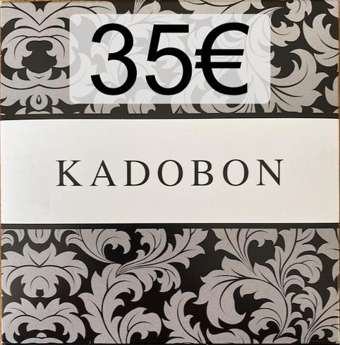 Cadeaubon 35€