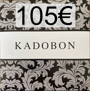 Cadeaubon 105€