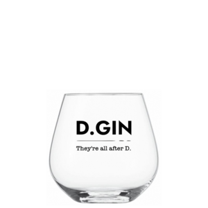 Exclusief D-Gin Glas